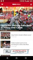 Screenshot of Cincinnati Reds