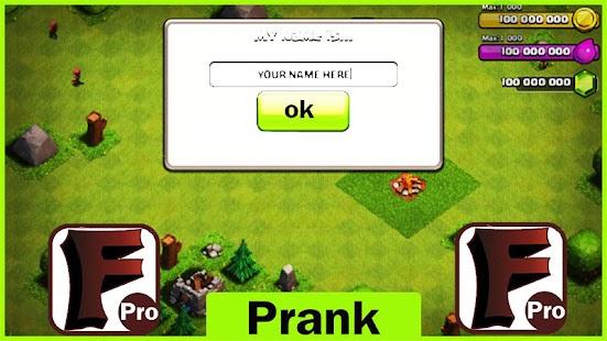 App Fhx Clash Of Cln Cheat prank APK for Windows Phone