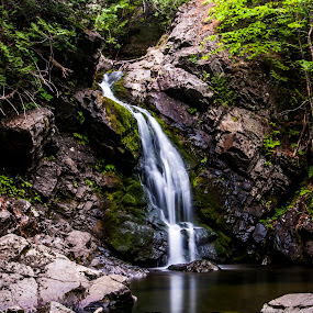 Howland Falls by Brad Chapman - Landscapes Waterscapes ( 2017, waterfalls, waterscape, falls, rocks )