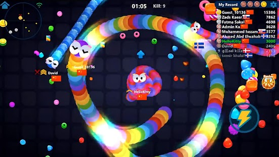 Snake Candy.IO - Real-time Multiplayer Snake Game
