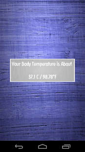 Finger Body Temperature Prank - screenshot