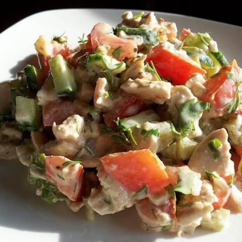 Weight loss, Salad «Delicate»