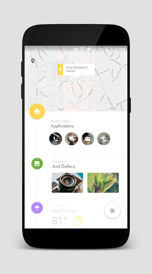 TimelineHome for KLWP Screenshot 1