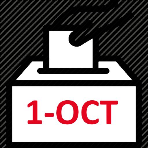 On Votar 1-Oct