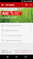 Screenshot of AiC Mobile
