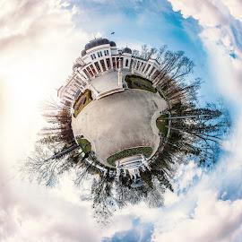 Little planet by Paul Inoan - Digital Art Places ( planet, park, little, romania, forest, cassino, cluj )