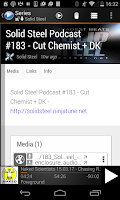 Screenshot of MyPOD Podcast Manager Free