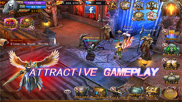 The Exorcists: 3D Action RPG Screenshot 2