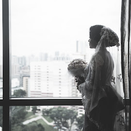 by Deenna Aziz - Wedding Bride ( prewedding, wedding, malaywedding, adeenaaziz, singapore )