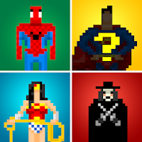Guess the Pixel: Comics Heroes For PC (Windows And Mac)