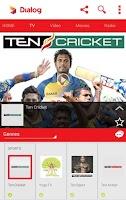 Screenshot of Dialog Live Mobile Tv Online