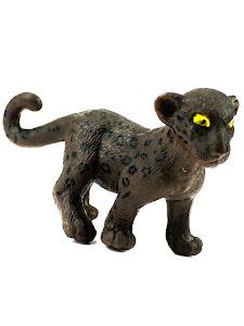 """Игрушка-фигурка серии """"Город Игр"""", детеныш леопарда S, черный"""