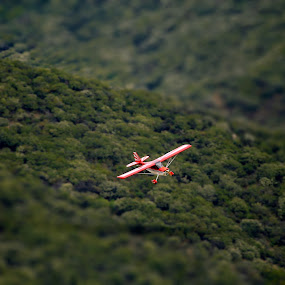 Final Approach by Scott Welch - Transportation Other ( tilt-shift, airplane, sesna, miniature, photoshop )