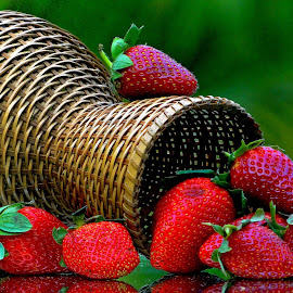 Straw berries by Asif Bora - Food & Drink Fruits & Vegetables