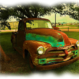 Antique Truck by Ron Olivier - Artistic Objects Industrial Objects ( antique truck,  )