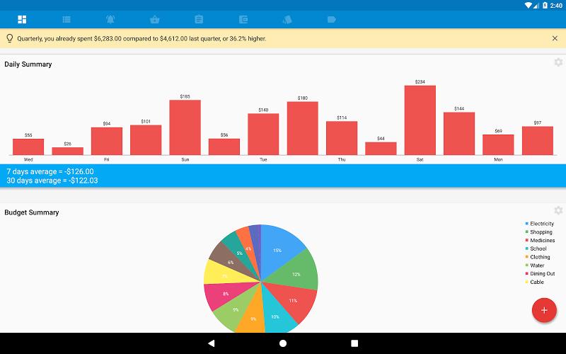 Bluecoins- Finance & Budget Screenshot 8