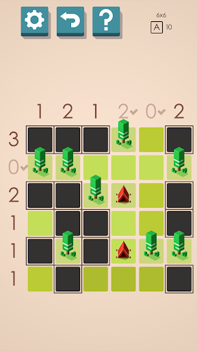 Tents and Trees Puzzles screenshot 1