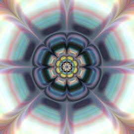 by Cassy 67 - Illustration Abstract & Patterns ( abstract, pastel, digital art, fractal art, circle, fractal, digital, fractals, flower, energy )