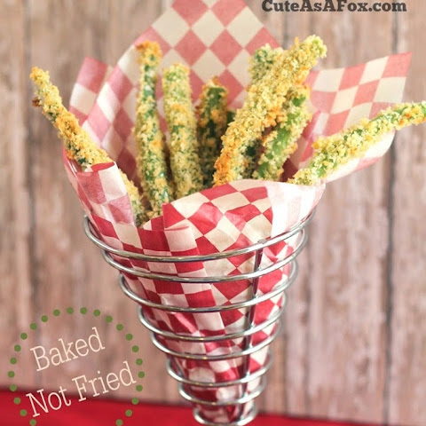 "Green Bean Garlic ""Fries"""
