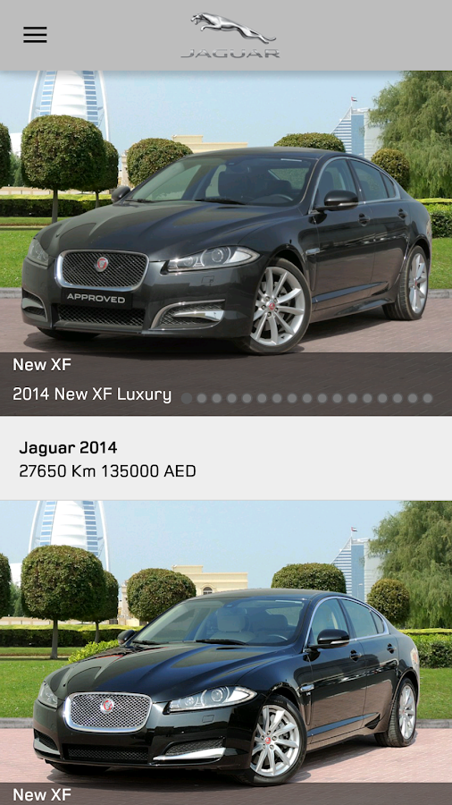 Jaguar APPROVED CARS MENA Screenshot 3