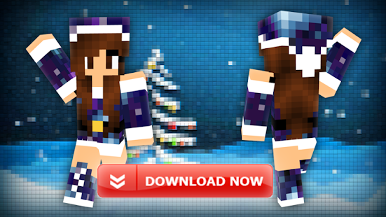 Christmas skins Minecraft - screenshot