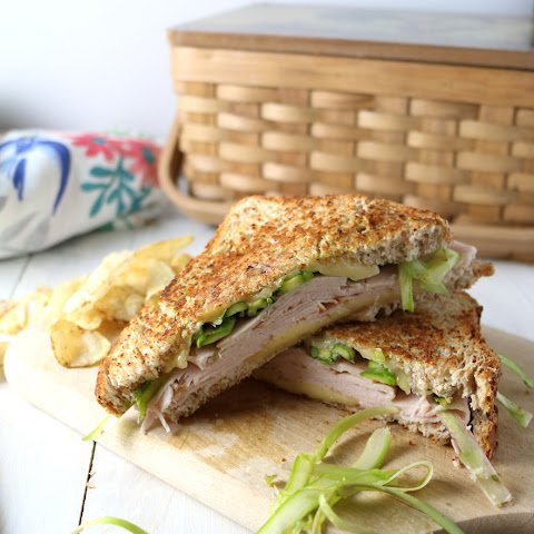 Turkey Panini with Havarti Cheese & Shaved Asparagus