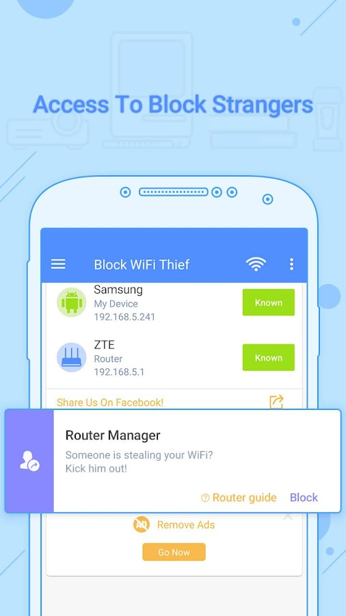 Block WiFi Thief Pro version - Ads Free! Screenshot 12