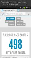 Screenshot of Now Browser (Material)