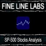 SP-500 Stocks Analysis Icon