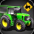 Tractor Farm Cargo Parking