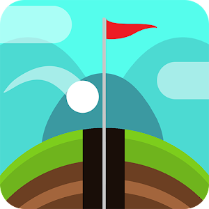 An infinite Golf course! Shoot the golf ball into the hole! How far can you go? APK Icon