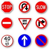 11.  Practise Test USA & Road Signs