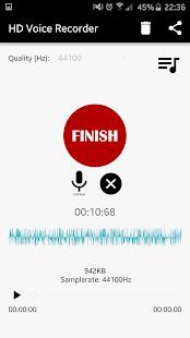 HD Voice Recorder - screenshot