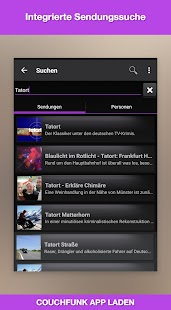Couchfunk Live TV & Programm Screenshot