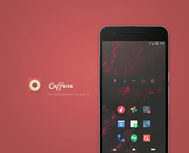 Caffene - CM13/CM12 Theme- screenshot thumbnail