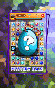 Easter eggs farm puzzle match - screenshot