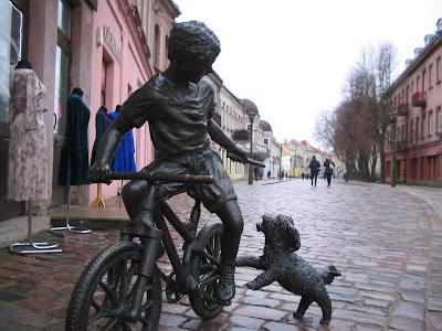 Улица Вильняус в Каунасе