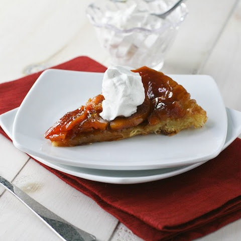 Butternut Squash Tarte Tatin with Nutmeg Whipped Cream