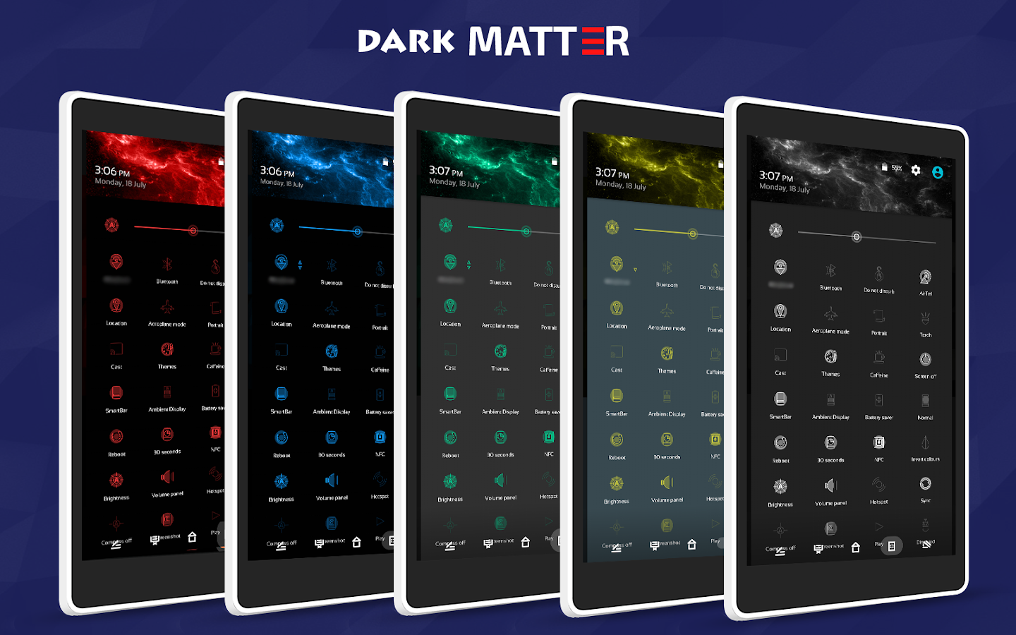 Dark Matter CM13/CM12.1 Theme Screenshot 1