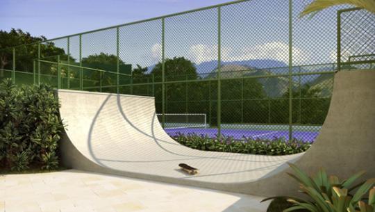 Perspectiva da Pista de Skate