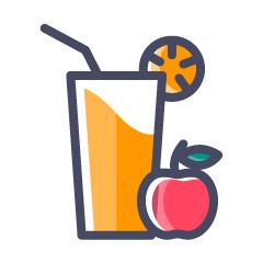 Fresh Juicebar, Ulkanagari, Ulkanagari logo