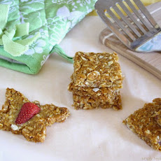 Three Berry Coconut Crispies #SundaySupper