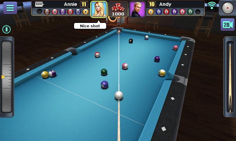 3D Pool Ball Screenshot 9