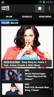 Screenshot of Big Top 40 Radio App