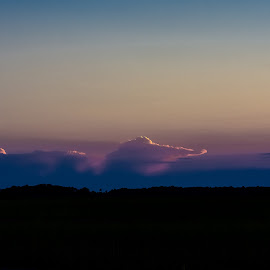 The Aligator Comes For You by Robert Smith - Landscapes Cloud Formations ( tybee, colors, beautiful, suset, aligator, ga )