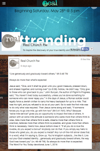 Real People Church - screenshot