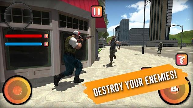 Battle Royale Grand City 3D apk screenshot