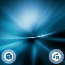 Galactic Blue Theme For Xperia