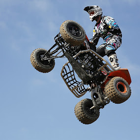 jump with motor by Dominik Konjedic - Sports & Fitness Motorsports