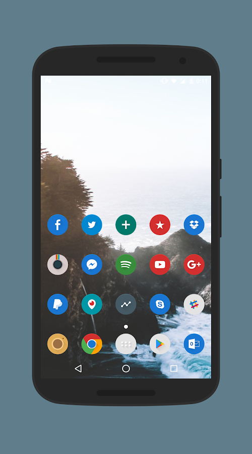 Celandia Icon Pack Screenshot 1
